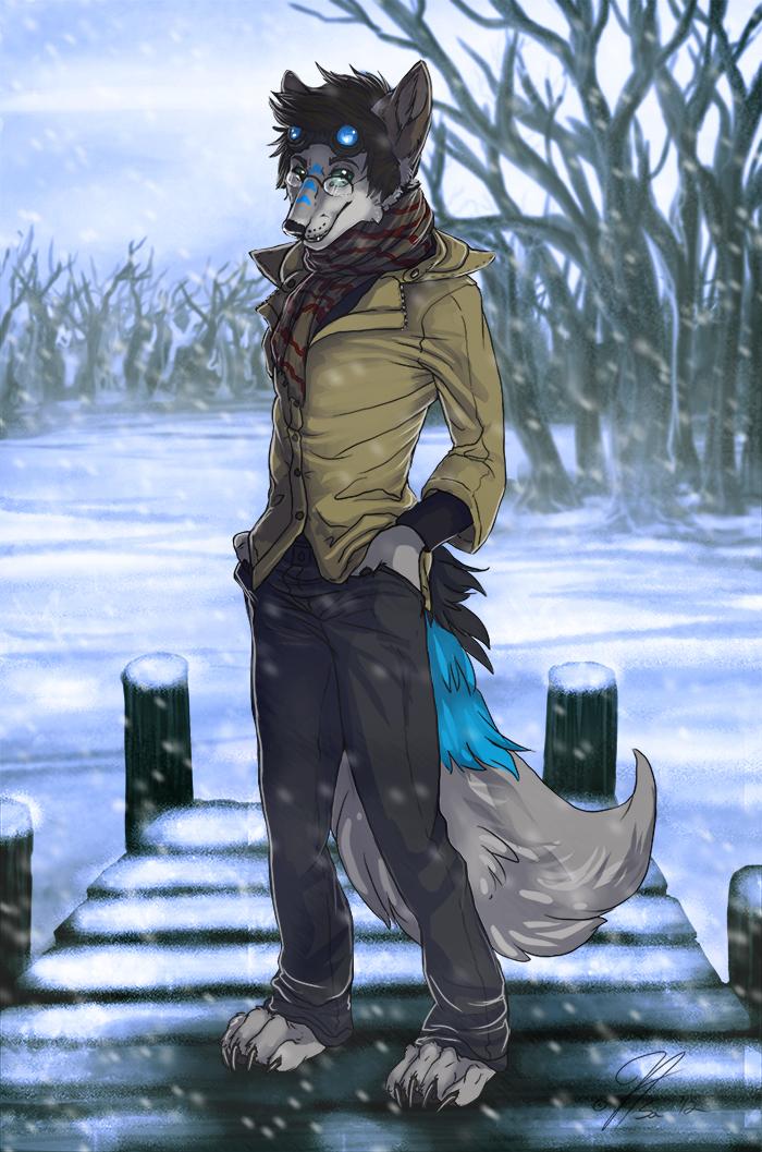 A Frozen Lake by Asa Hane