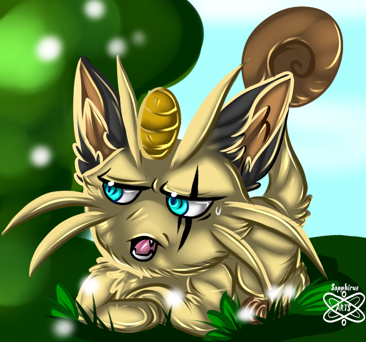 Meowth +Not amused+