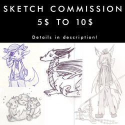 Sketch commission - Open !