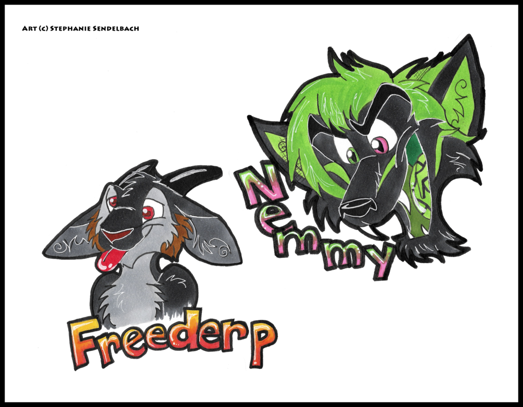 Most recent image: Freederp and Nemmy