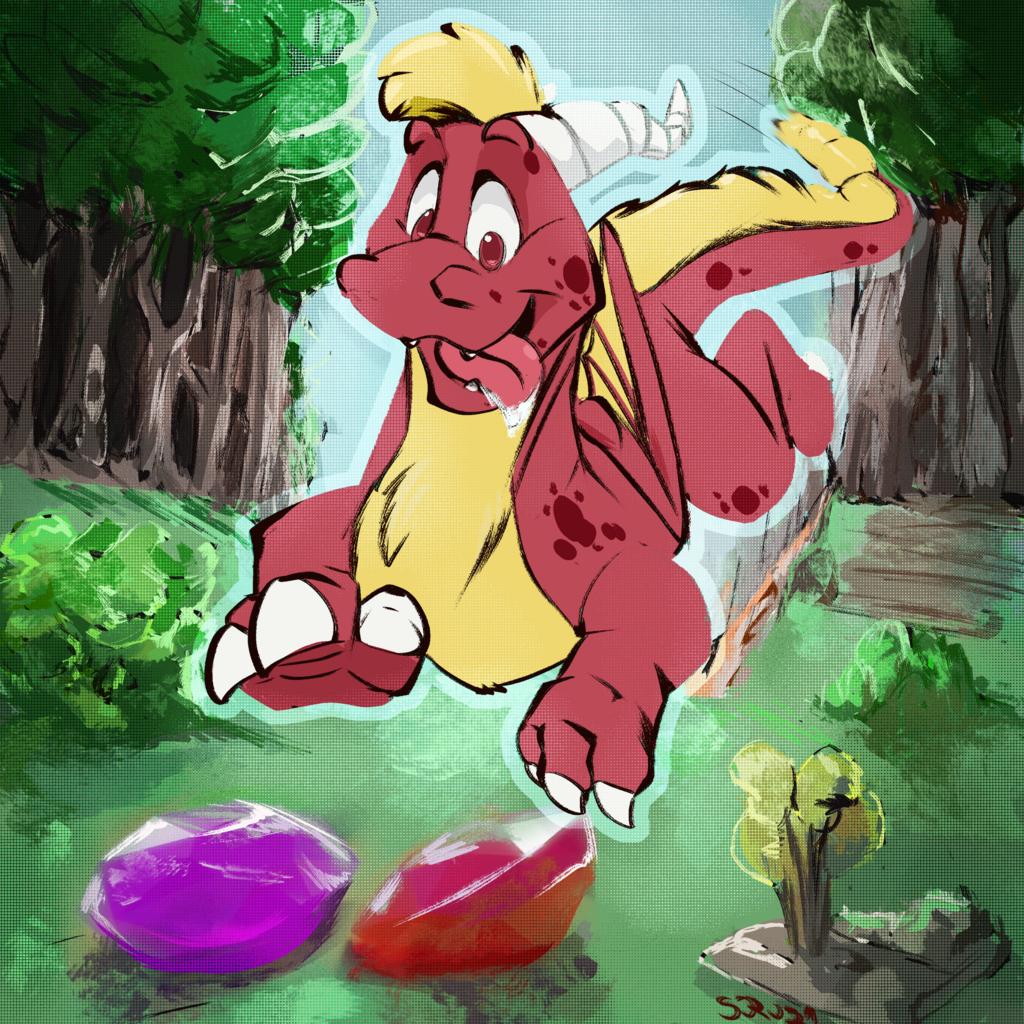 Chasing gems!
