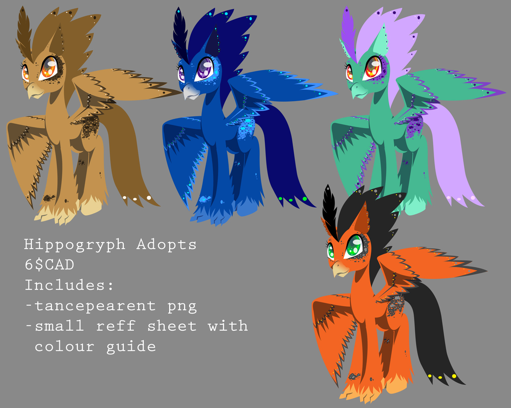 Most recent image: Hippogryph Adopts 2