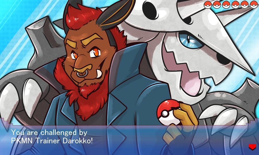 [commission] Pokemon Challenger: Darokko