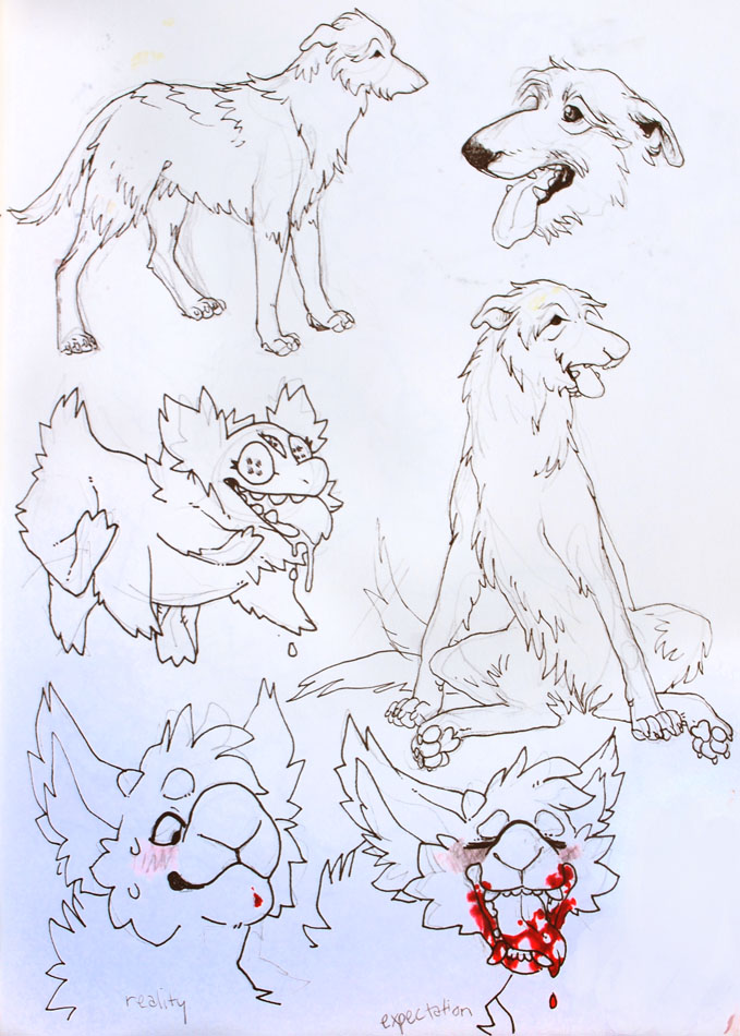 nother sketchbook page