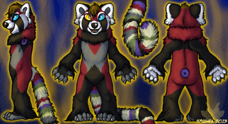Elemental Red Panda - Element of Time (and SPACE!)