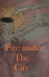 Fire under the city cover