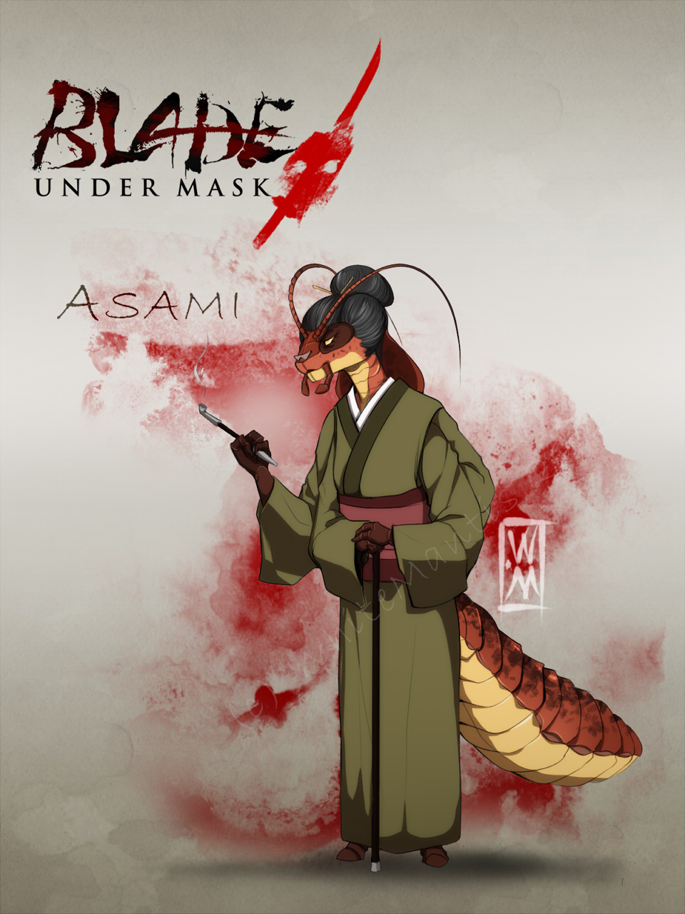 Featured image: Blade Under Mask: Asami