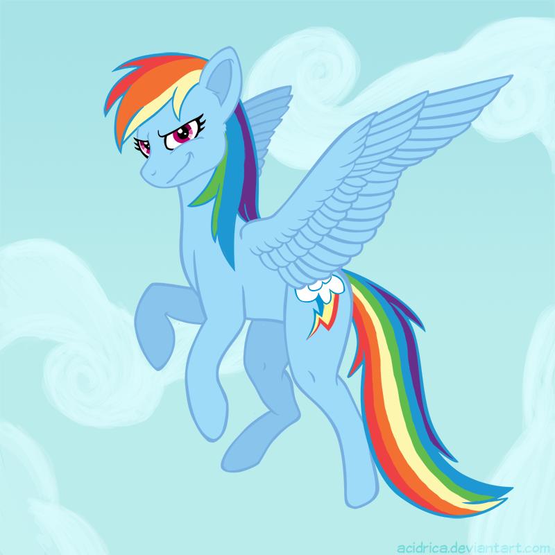 Winged Rainbow