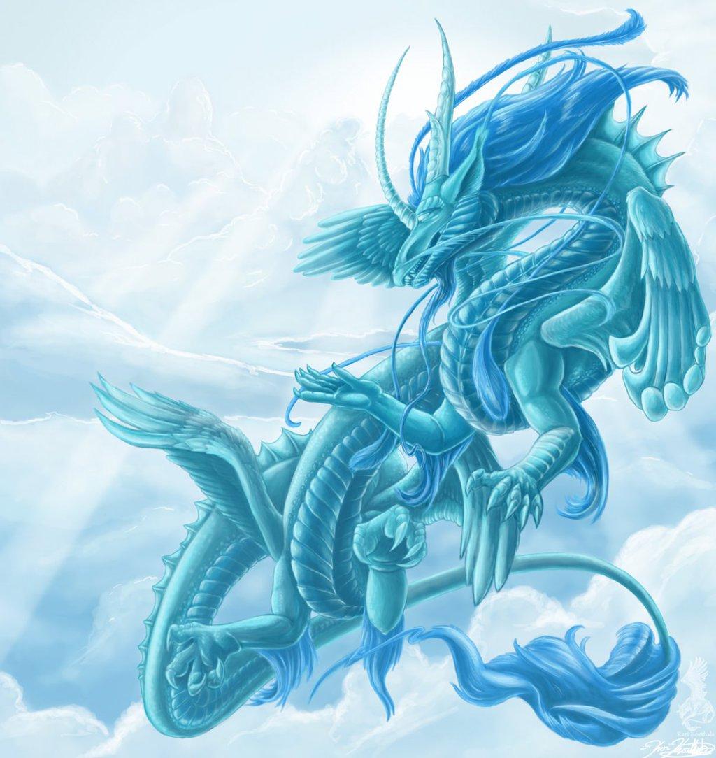 Celestial dragon for dineegla