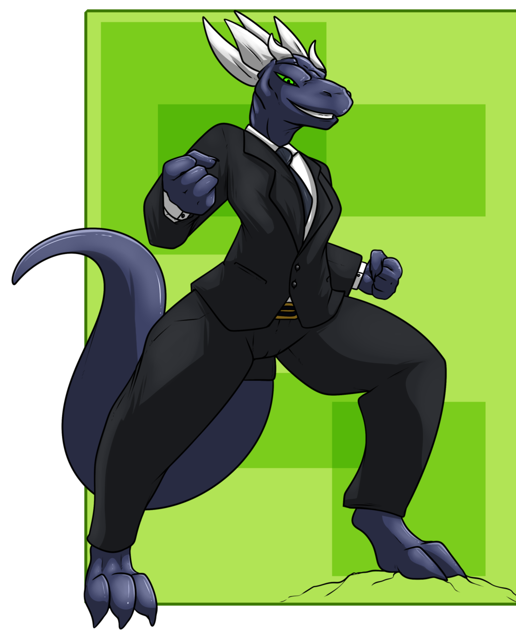 Most recent image: [Commission] Suited