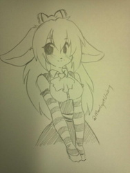 [Gift Art] Meet Mocha With Clothes!