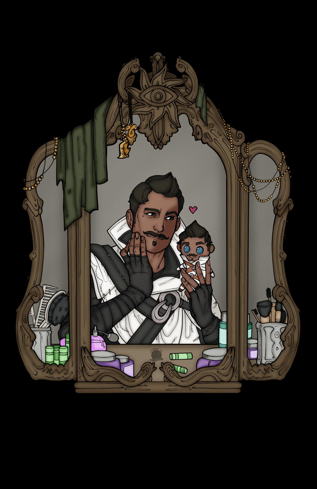 Dorian Pavus and His Plush
