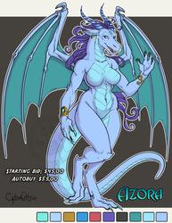 Azora Adoptable Dragon Starting Bid $45