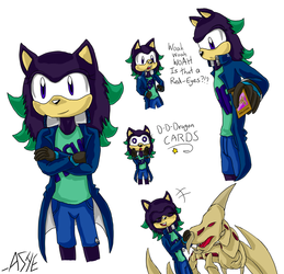 Ashe's Duelist Design