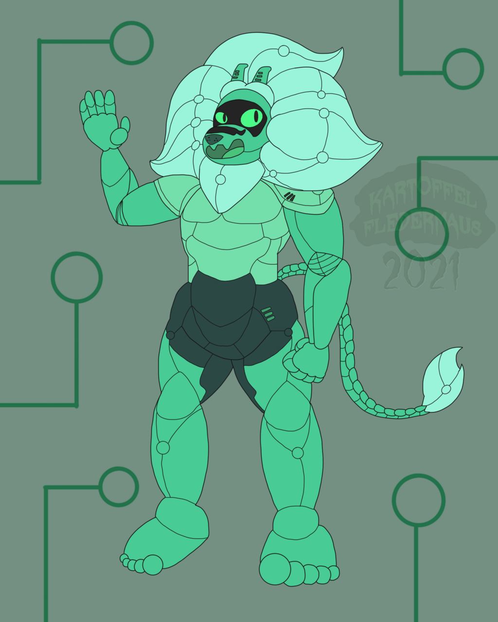 Synthesized Emerald