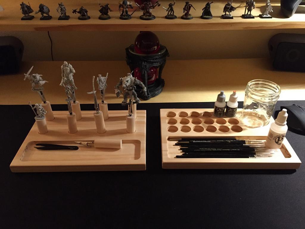 Miniature Tool Caddies