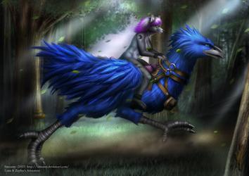 Luna & Zephyr's Adventure