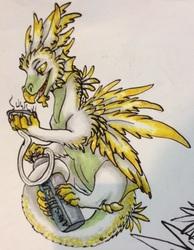 Anesthesia Pot Dragon