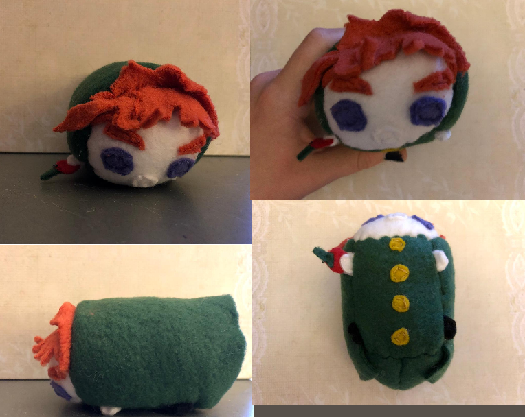 Jojo's Bizarre Adventure Kakyoin stacking Tsum Plush For Sale