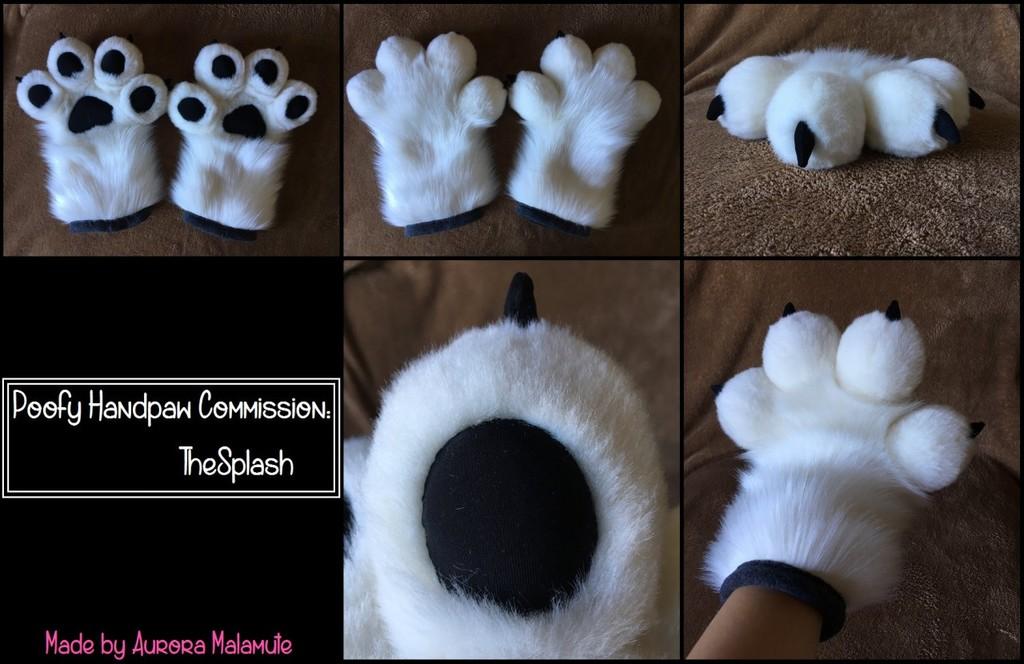Poofy Handpaws Commission - TheSplash