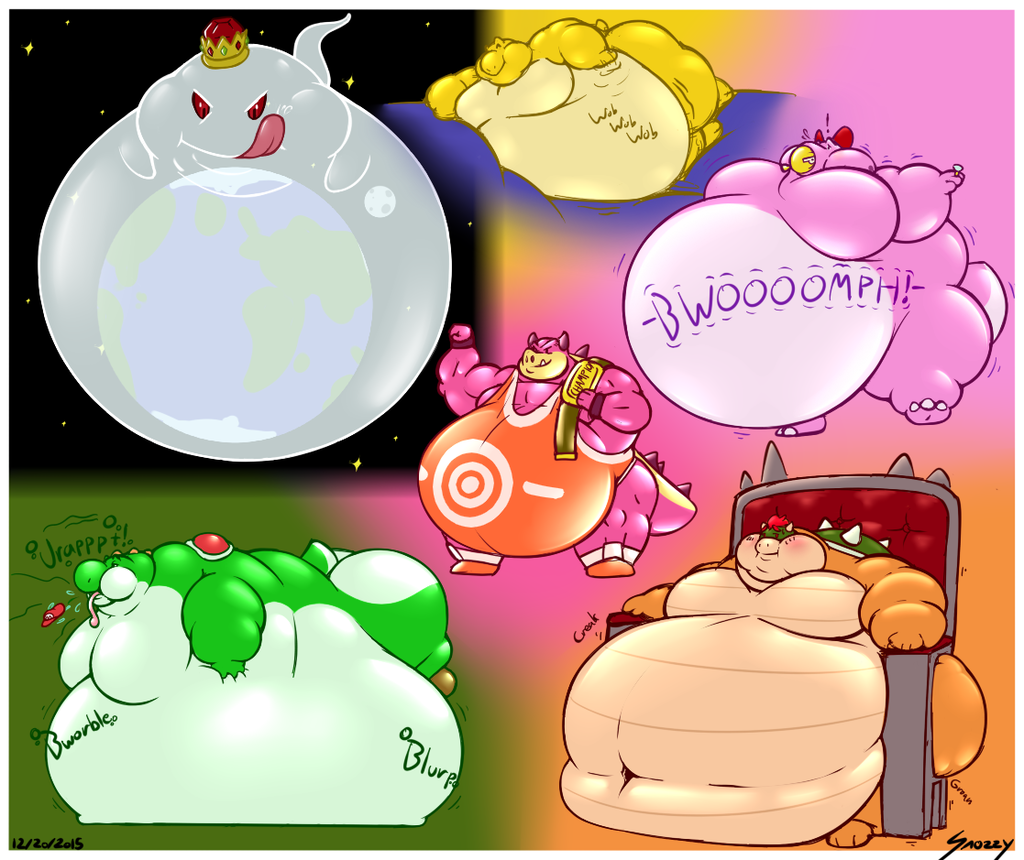 Lotsa Mario Doodles!