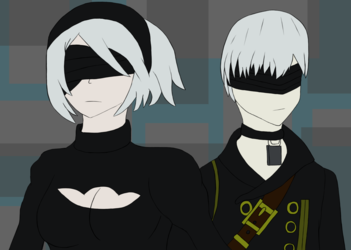 2B and 9S