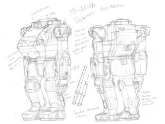 MF-68SPe Delamare - Draft