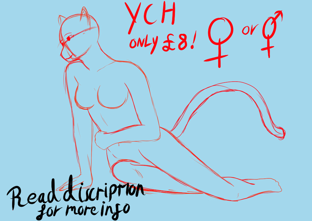 cheap YCH pinup