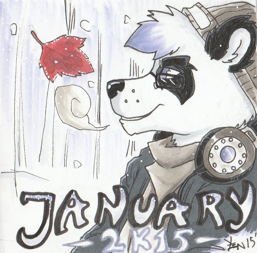 January Trap Mix 2015 Cover art