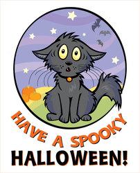 Scaredy Cat Card