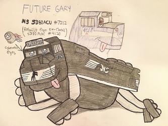 Future Gary (SD80ACU)