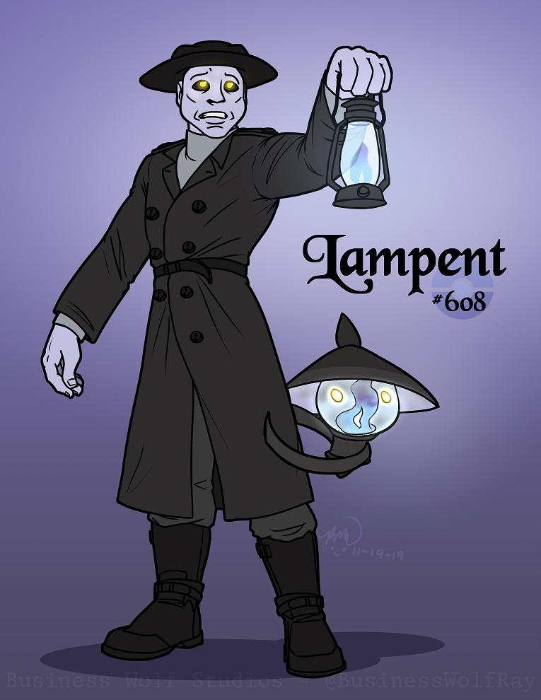 Lampent Gijinka
