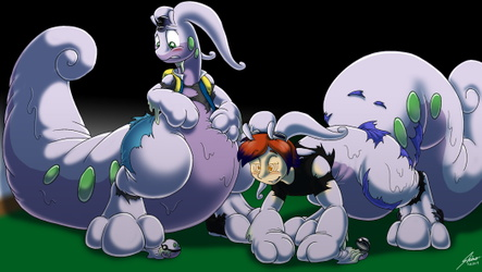 Jask and Mal Goodra doom