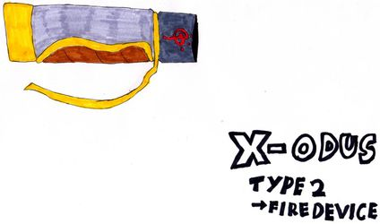 X-ODUS Type 2 -> Flame device