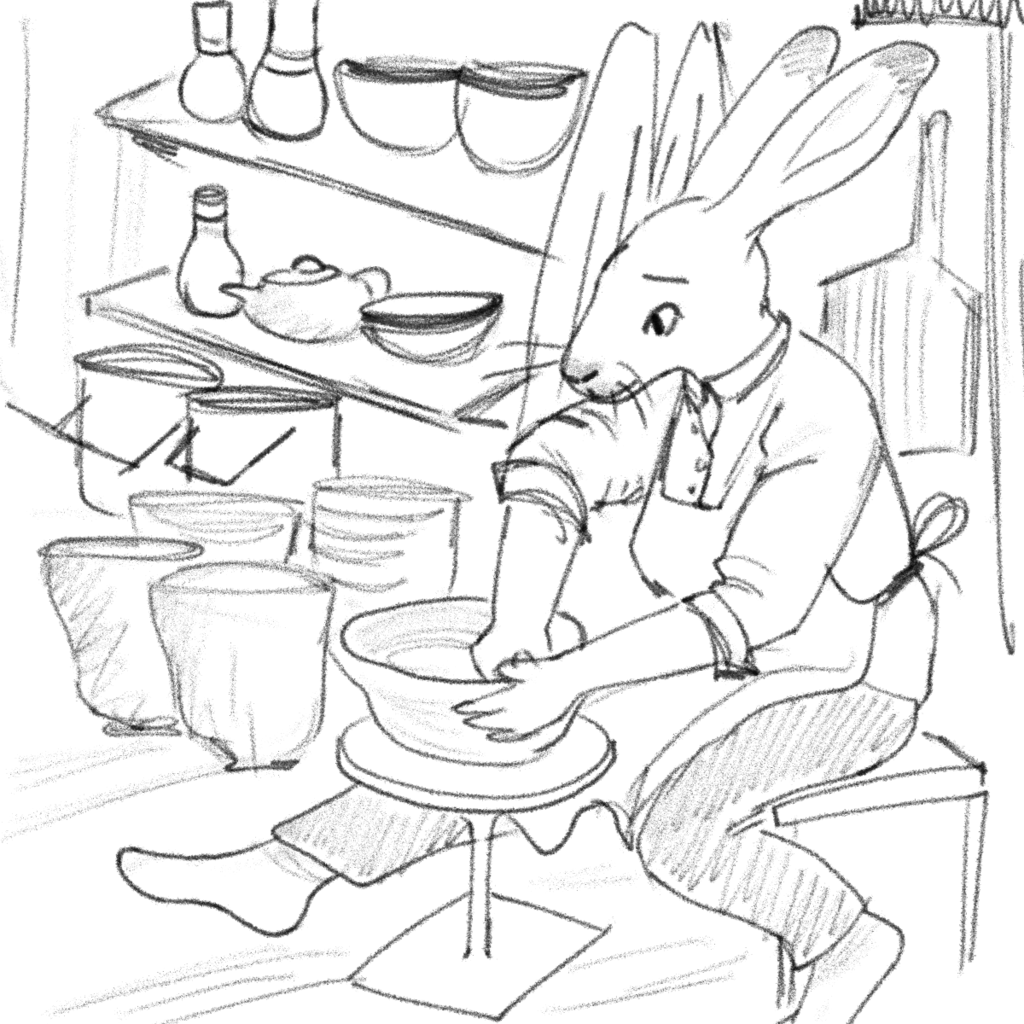 Pottery Hare