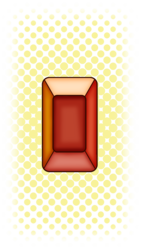 Hessonite Gem