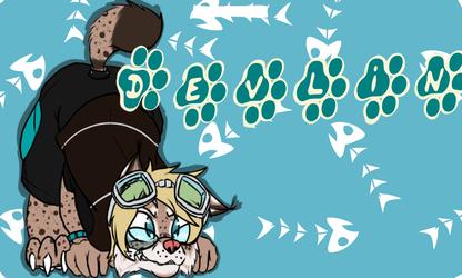 [C] Devlin the Lynx Badge