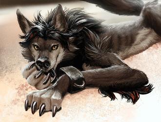 wolf_lick