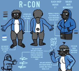 R-con ref sheet [Commission]