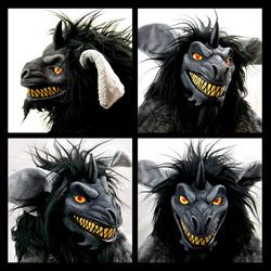 Monster Doll - Face