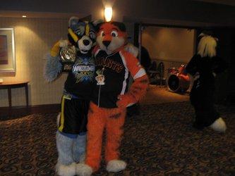 FWA 2012 - Day 2 - Mike and Nekomon
