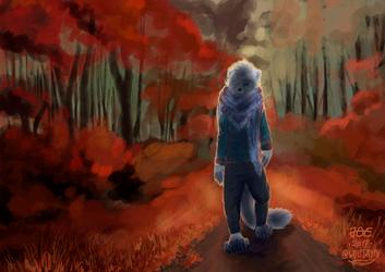 Cinza's Autumn Walk