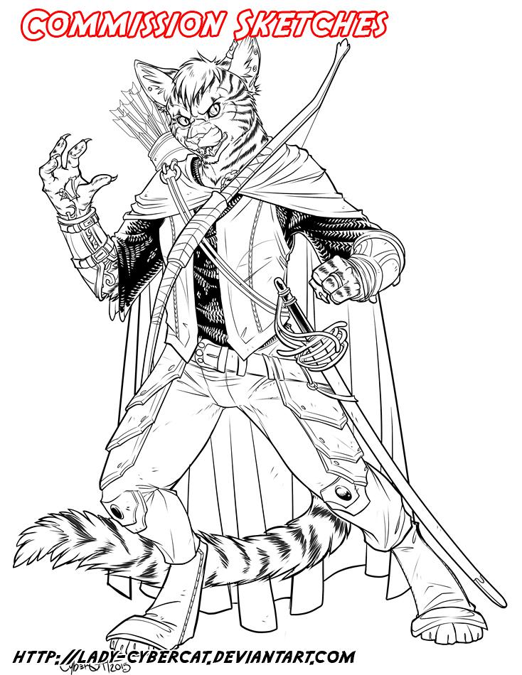 April 2015 Commission Sketch 7