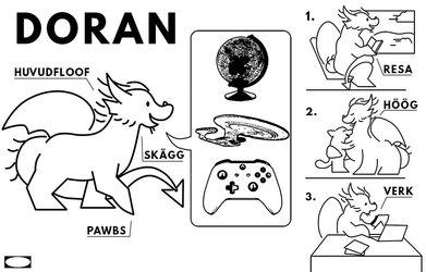 NOT MY ART: Doran Ikea Instructions by Ixis