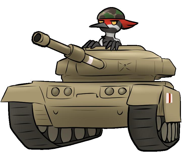 Birds und Panzer