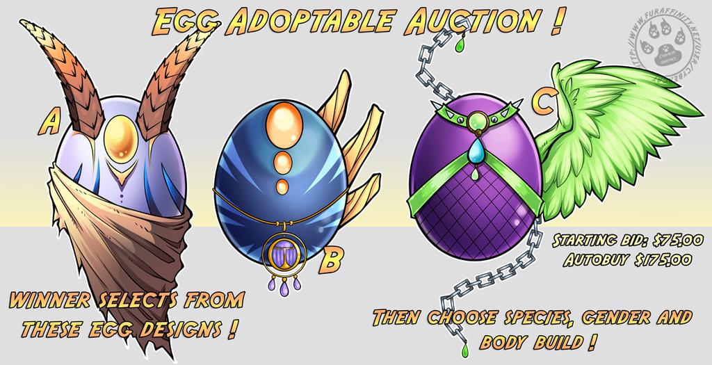EGG ADOPT AUCTION! Starting Bid $75 !