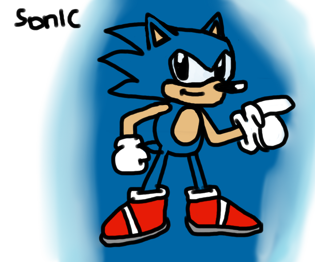 Mouse Drawn Sonic