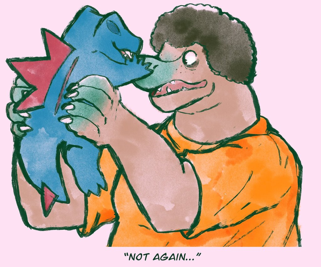"""Not again..."""
