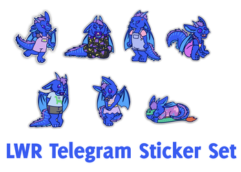 LWR sticker set