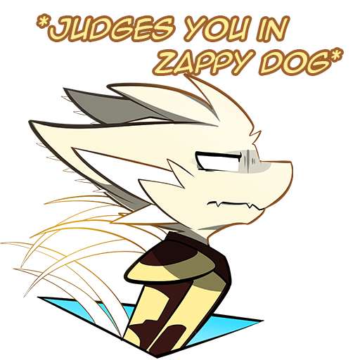 QDV: *Judges You in Zappy Dog*